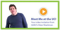 Peter Shankman's video invitation. Meet us there! Register today for our 2012 Vocus Users Conference in Baltimore, MD - June 7-8.