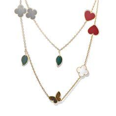 Van Cleef & Arpels - Lucky Alhambra long necklace, 12 motifs