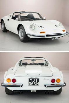Rare 1974 Ferrari Dino 246 GTS Selling For Over $740,000