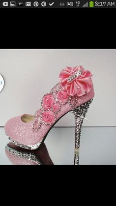 Wouldn't wear them but they're pink! Oh my gosh!!! They r the most beautiful shoes I have eeever laid my eyes on. Princess!