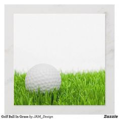 Shop Golf Ball In Grass created by JAM_Design. Golf Card Game, Card Games, Golf Invitation, Golf Tiger Woods, Golf Birthday Cards, Golf Quotes, Golf Humor, European Football, Congratulations Card