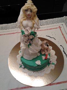 topper sposa....e lo sposo? regalo di nozze per la mia dentista
