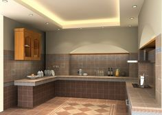 Small Kitchen Ceiling Design Ideas