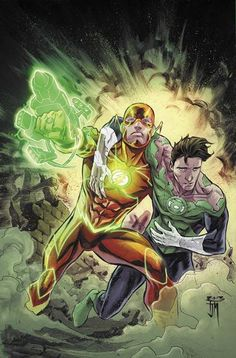 Flash & Green Lantern