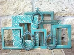 upcycled picture frames