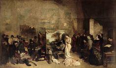 1855, Gustave Courbet - L'Atelier de l'Artiste