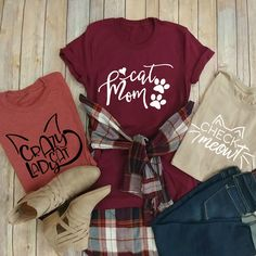 Favorite Cat Lover T-Shirts   4 Designs   Jane