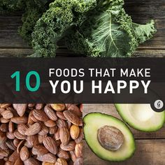 10 Nutrients Scientifically Proven to Make You Feel Awesome #happiness #nutrients #food