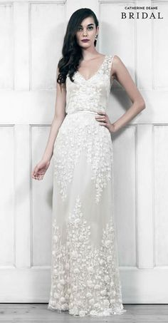 Catherine Deane Bridal Collection on the blog now!!! #catherinedeane #bride #bridal #wedding