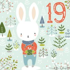 Flora Waycott Christmas Advent 2014 DAY 19 - A little gift for you xxx