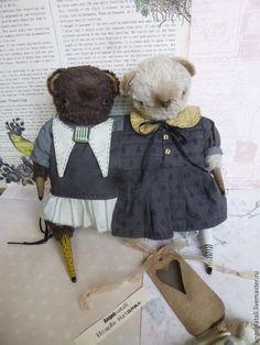 Купить Мари-Анна - teddy, teddybear, bear, collectible bear, hendmade, ручная работа