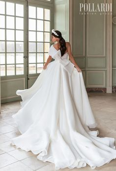 Pollardi Wedding Dresses | Wedding Inspirasi  -- pollardi 2021 royalty bridal on shoulder simple high slit skirt sexy modern chic a  line wedding dress ribbon back royal train (queenliness) bv  #Ad #Bridal #Pollardi #Wedding #Weddingdress #WeddingDresses #WeddingGown #WeddingGowns  ~ Country Wedding Dresses, Modest Wedding Dresses, Designer Wedding Gowns, Elegant Bride, Wedding Dress Shopping, Mermaid Dresses, Ball Dresses, Bridal Gowns, Vintage Dresses