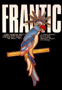 Frantic, Polanski, Polish Movie Poster, Jakub Erol
