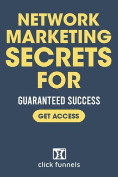 Inside this free book, you'll learn about the 3 'LOST' Sales Funnels that run 99.9% of ALL successful network marketing businesses. ESCAPE the cookie-cutter network marketing plan and learn the RIGHT WAY to use sales funnels to grow your direct sales company. #networkmarketing #marketingsecrets #salesfunnels Marketing Plan, Sales And Marketing, Internet Marketing, Online Marketing, Social Media Marketing, Digital Marketing, Direct Sales Companies, Free Books, The Secret