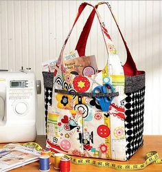 This bag will keep your sewing supplies organized.