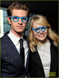Andrew Garfield & Emma Stone ...they need to be my best friends.