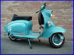 S1 Lambretta Scooter, Vespa Scooters, Small Cars, Sidecar, Chopper, Motorbikes, Retro Vintage, Motorcycle, Vehicles