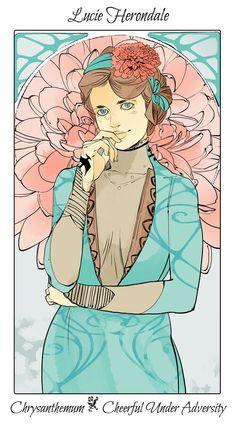 Lucie Herondale Shadowhunter Flower Series