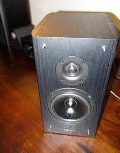 The speakers bear many of the hallmarks of popular bookshelf speaker designs. Bookshelf Speakers, Bookshelves, Speaker Design, Bear, Popular, Electronics, Bookcases, Book Shelves, Bears