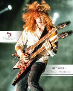 Megadeth - Dave Mustaine - HellFest 2012