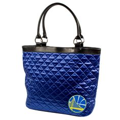 Golden State Warriors NBA Quilted Tote (Royal)