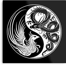 Bildergebnis für yinyang dragon