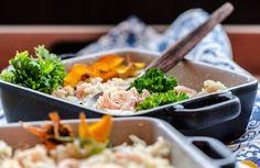 Katkarapurisottoa 🍤 Shrimprisotto Hyvä ruoka, parempi mieli