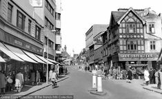 Photo of Croydon, Church Street from Francis Frith South London, Old London, Purley Way, Old Photos, Vintage Photos, London Drawing, London History, Croydon, Crystal Palace