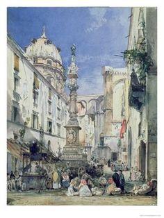 Giclee Print: Giacinto Gigante Poster by Giacinto Gigante : 24x18in