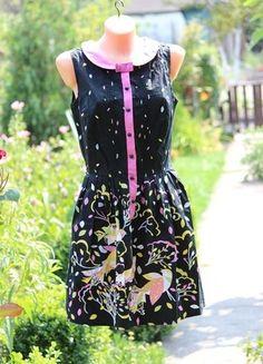 Kup mój przedmiot na #vintedpl http://www.vinted.pl/damska-odziez/krotkie-sukienki/9960613-sukienka-z-kolnierzykiem-na-lato-kolorowa-na-guziczki