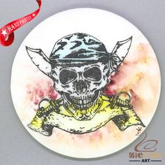 CHARMING FRIDGE MAGNET SKULL WALL DECOR DIY WHITE STONE ZR3000048 #ZL #FridgeMagnet