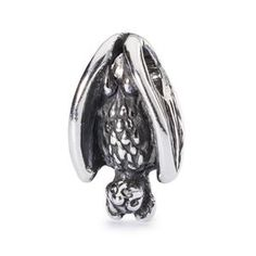 Sleeping Bat Bead. Order now at http://www.greatlakesboutique.com/index.html
