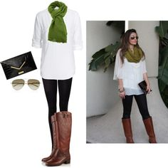 simple. Love this! If only I could find more long shirts to rock with leggings. Can't seem to find them in the stores. :-/