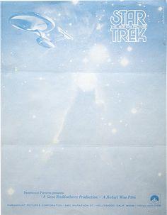 Famous Letterheads   Star Trek: The Motion Picture 1968   Retronaut