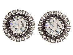 Betsey Johnson Crystal Burst Studs Crystal | Zappos.com
