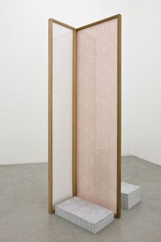 Becky Beasley Nolens Volens (Setting), 2011 Matt gelatin silver prints, cedar wood, orange acrylic glass, litho offset prints