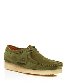 Clarks Wallabee Moccasins | Suede/rubber | Imported | Moc toe  | Suede upper | Crepe sole | Web ID:1613818