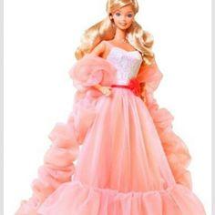 1980 Barbie doll..Peaches and cream :)