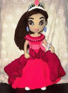 My crochet Elena