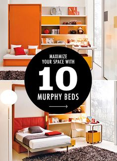 10 Murphy Beds that Maximize Small Spaces | Brit + Co.