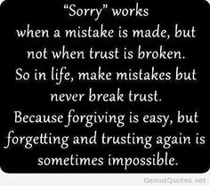 Sorry works