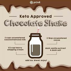 Keto shake Use with Keto os too