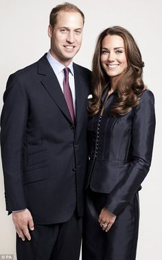 A new portrait of the Duke and Duchess of Cambridge