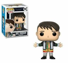 Funko Friends Joey Tribbiani in Chandler's Clothes POP! Vinyl Figure Joey Tribbiani vinyl figure stands at about . Collect all the Friends POP! Tv: Friends, Chandler Friends, Friends Tv Show, Friends Moments, Friends Series, Joey Tribbiani, Pop Vinyl Figures, Funko Pop Figures, Funk Pop