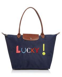 d39a61549 Longchamp Le Pliage Lucky Shoulder Tote Handbags - Bloomingdale's