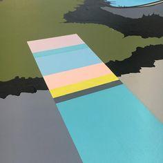 """10 Synes godt om, 4 kommentarer – Rikke➰Bjørn➰Art (@rikkebjornart) på Instagram: """"This is a huge painting I have been working on for a while - and still work in progress - hopefully…"""""""