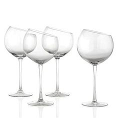 Love these Slanted Stemware - Set of 4 from @zgallerie