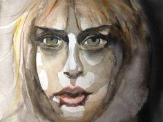 "Eva Åkerstedt, ""Untitled"", 2012-08-13. Watercolor on paper. Vagrant World -publishing&production-"