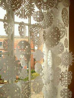 Snow Flake curtains