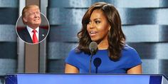 Michelle Obama's Best Quotes About Donald Trump - First Lady Comments on Vote 2016, Trump One, Michelle Obama, Donald Trump, Best Quotes, Politics, Cosmopolitan, American, Lady